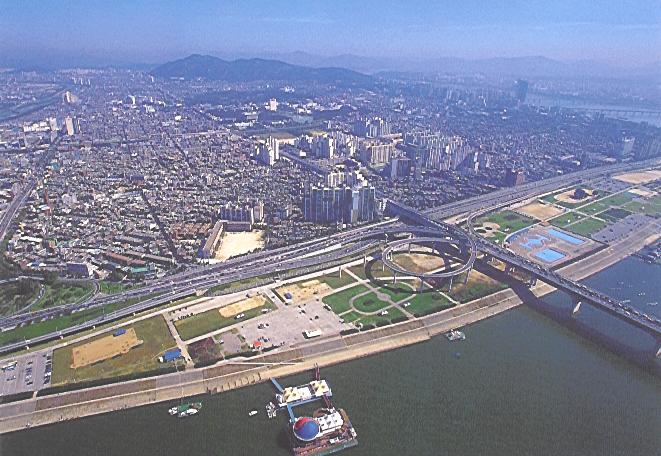 광진구항공사진